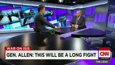 Former marine general on ISIS fight Lead Gen. Allen INTV_00011816