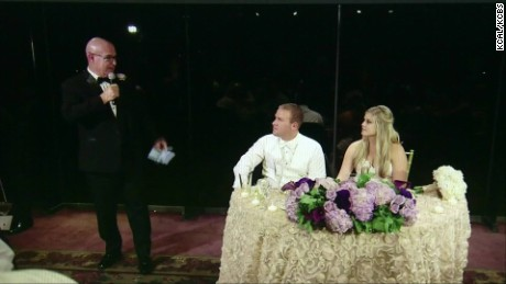 groom saves choking wedding guest pkg_00001807