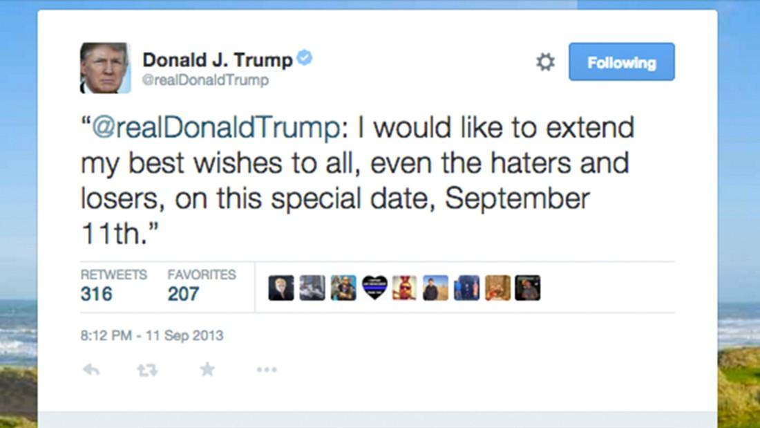 Slikovni rezultat za 9/11a Trump