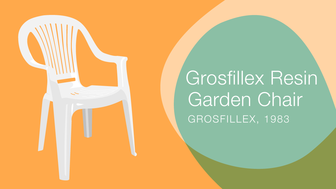 In 1983, the really first high volume mass produced chairs came to market by the Grosfillex group. Millions have been produced since their debut and we all know them too well. I always wanted to redesign these chairs, considering when they were released they were about $50 retail and now retail for $10, and cost only $3 to produce. The Easy Chair (by Jeszey Seymour for Magis in 2004) resembles the ubiquitous Grossfillex chair in form and function but is beautiful in comparison. <br /><strong><br />Material: resin | Production: injection molding</strong>
