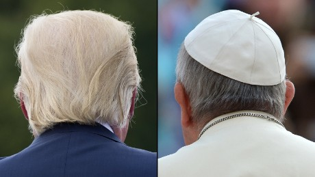Donald Trump and Pope Francis have radically different visions of what power is all about.