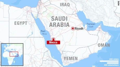 Where Is Mecca On A World Map Timekeeperwatches