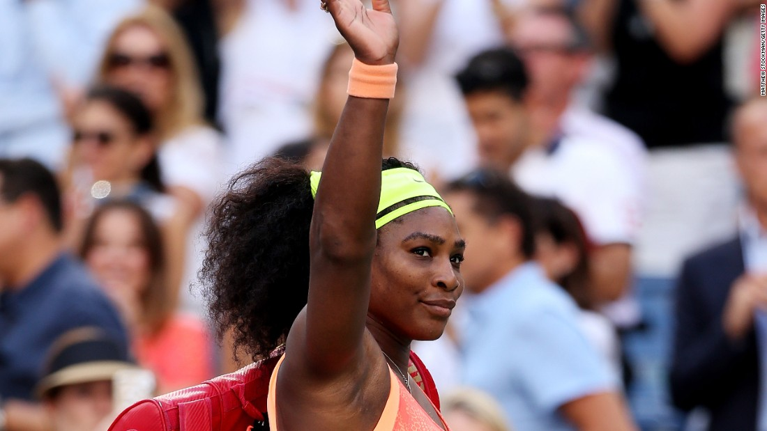 <strong>U.S. Open 2015:</strong> Serena Williams walks off of the court after losing to Roberta Vinci of Italy in the semifinals. It was her only loss in a major over the entire year.