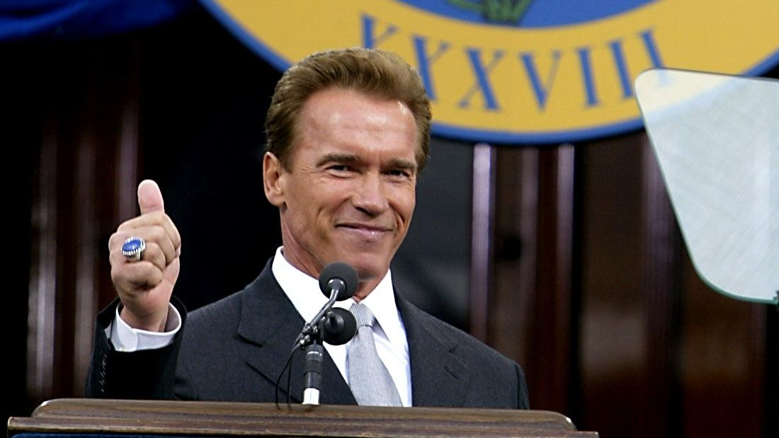 schwarzenegger the socialized charismatic leader and the Arnold schwarzenegger is a socialized charismatic leader who paints a strong vision for the future of california and has become a model leader for the 21st century quite simply he has been a leader in every field he has entered schwarzenegger displays several of the competencies required for.