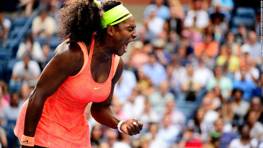 "Williams, as she has done this year when in trouble, willed herself on with shouts of, ""come on."" But in Friday's semifinal ..."