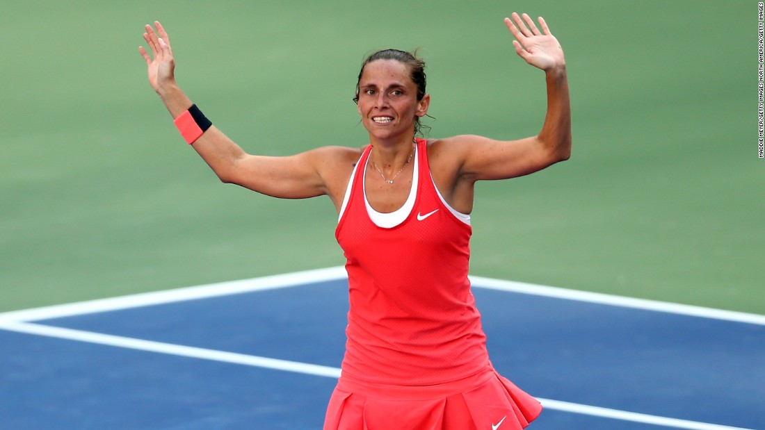 Vinci was delighted to win and charmed the crowd with her post-match interview. But she also spared a thought for Williams, who was the crowd favorite playing at home in the U.S.
