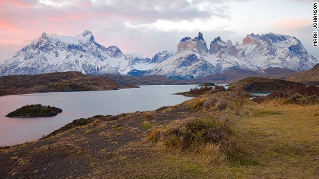 Torres Del Paine is home to more than 50 pumas.