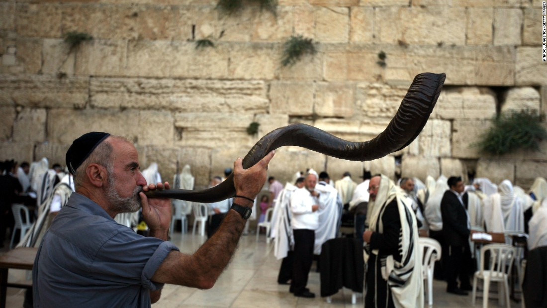 "Rosh Hashanah means ""head of the year"" in Hebrew. It is a time for reflection and repentance and is referred to as the ""day of judgment"" or the ""day of repentance."" One of the most significant rituals of the holiday is the blowing of the shofar, or ram's horn. It is used as a call to repentance during the High Holy Days."