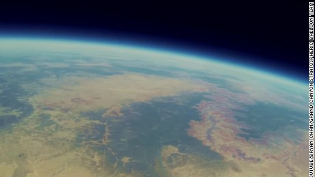 The Grand Canyon From The Edge Of Space Cnn Video