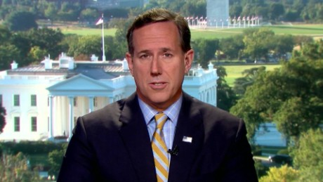 New Day Rick Santorum on Kim Davis Supreme Court decision _00000208