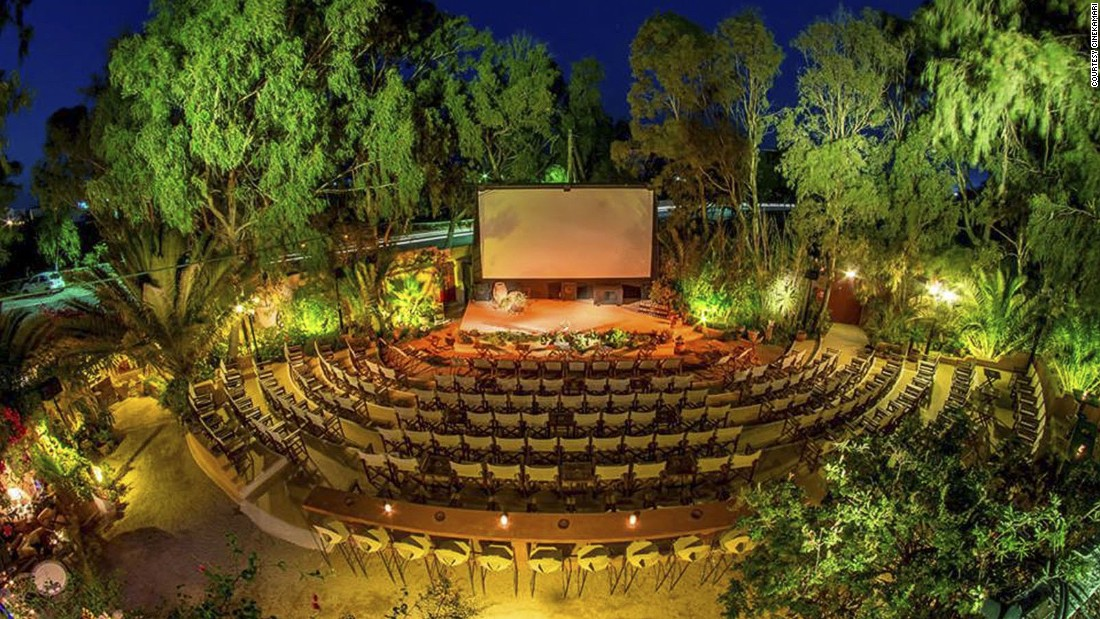 "For less than than 10 euros visitors can watch classic English-language films with cocktails on the magical island of Santorini at <a href=""http://www.venuereport.com/roundups/22-incredible-outdoor-cinemas-worldwide/entry/17/"" target=""_blank"">Cinekamari</a>. Upcoming screenings include ""Infinitely Polar Bear"" from October 3-6 and ""Solace"" from October 10-13."