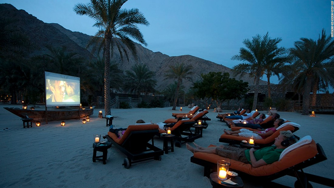 "Get used to seeing Six Senses on this list. The luxury resort brand's outdoor cinemas are a signature offering for guests and Oman's <a href=""http://www.venuereport.com/roundups/22-incredible-outdoor-cinemas-worldwide/entry/14/"" target=""_blank"">Six Senses Zighy Bay</a> is no exception. Plush loungers, gourmet popcorn and cool cocktails are also part of the experience."
