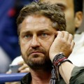 Gerard Butler at US Open