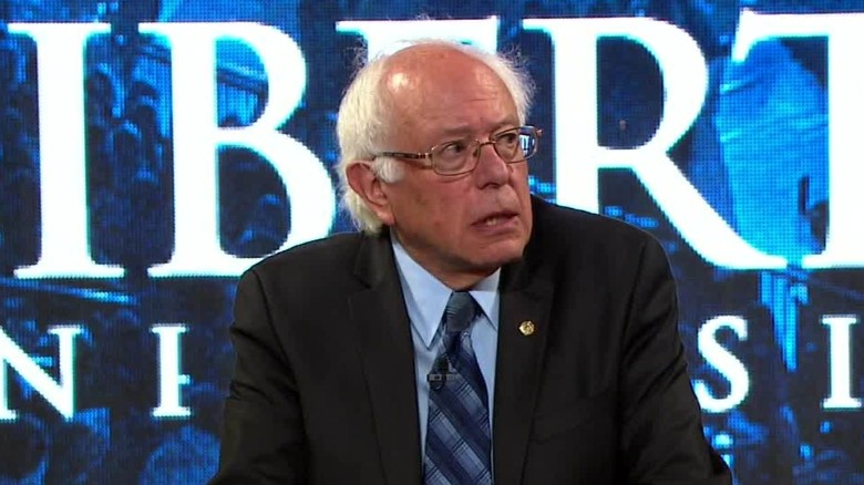 Sanders at Liberty University: We need civil discourse