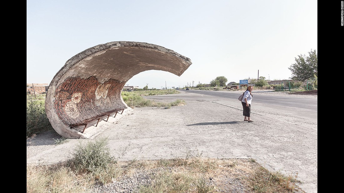 "Herwig says his near-obsessive quest for Soviet bus stops took him places he wouldn't otherwise have traveled. ""I probably wouldn't have gone to Armenia, or Belarus or Ukraine or Moldova or the region of Abkhazia,"" he says. <br />"