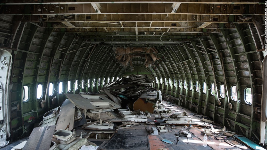 "Usually, decommissioned aircraft are sent to ""boneyards"" and salvaged for parts then broken down for scrap. The largest boneyard in the world is said to be located in Tucson, Arizona."