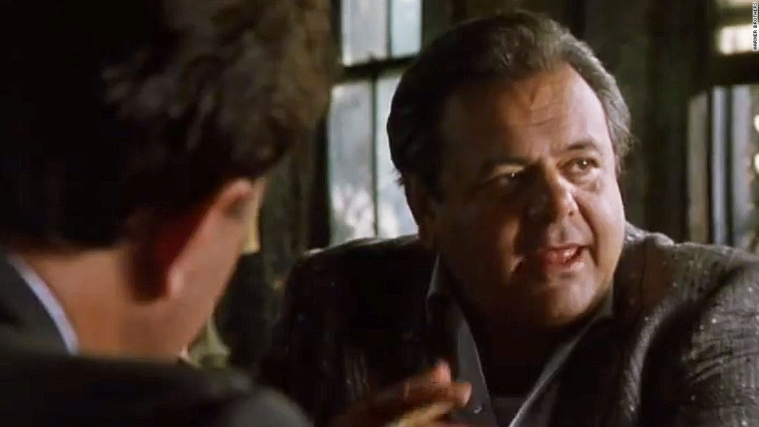 Thank goodness he changed his mind, as Sorvino's quietly menacing Paul Cicero is one of the highlights of the movie.
