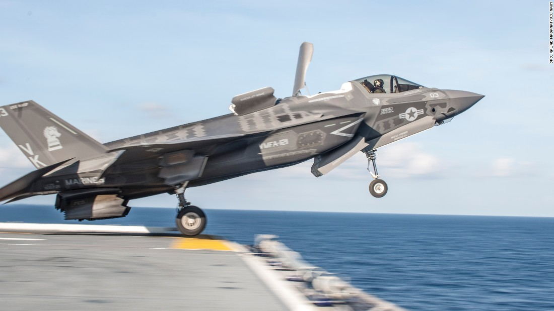 The U.S. Marines' version of the F-35 Joint Strike Fighter was declared ready for combat this year, but the Navy and Air Force are still waiting for the finishing touches to be made on their jets.<br /> <br />The fighter jet has been in development for nearly 15 years and is touted as the most advanced weapons system of the modern era, combining stealth capabilities, supersonic speed, extreme agility and state-of-the-art sensor fusion technology.<br /> <br />The price tag for all these benefits, however, is nearly $400 billion, making the program the most expensive weapons system in world history. To maintain and operate the JSF program over the course of its lifetime, the Pentagon will invest nearly $1 trillion, according to the Government Accountability Office.<br /> <br />The Pentagon is scheduled to purchase 2,443 F-35s, but criticism over the affordability of the program has prompted several lawmakers to reaffirm their desire to purchase the full order of aircraft.