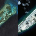 China Fiery Reef split