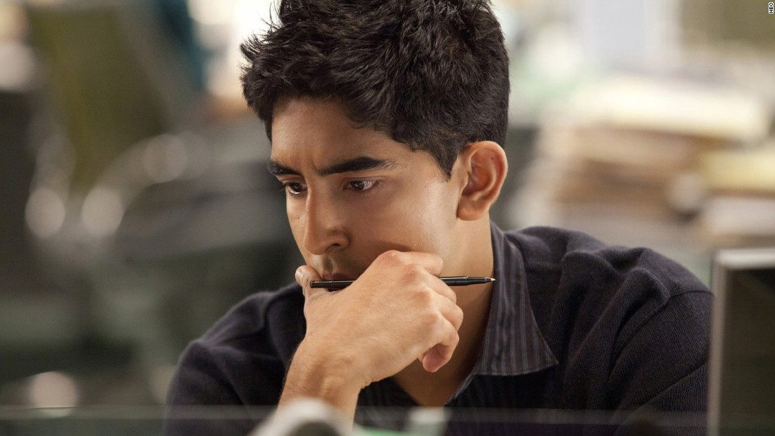 """<strong>Dev Patel</strong> played a blogger on HBO's """"The Newsroom,"""" which ended its run in 2014 after three seasons. Patel first became known to American audiences when he starred in the 2008 movie """"Slumdog Millionaire."""""""