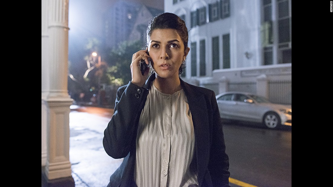 """<strong>Nimrat Kaur</strong> was Tasneem Qureshi, a Pakistan intelligence officer, in season 4 of Showtime's """"Homeland."""" Before landing the role, Kaur worked as a model and theater actress in Mumbai."""