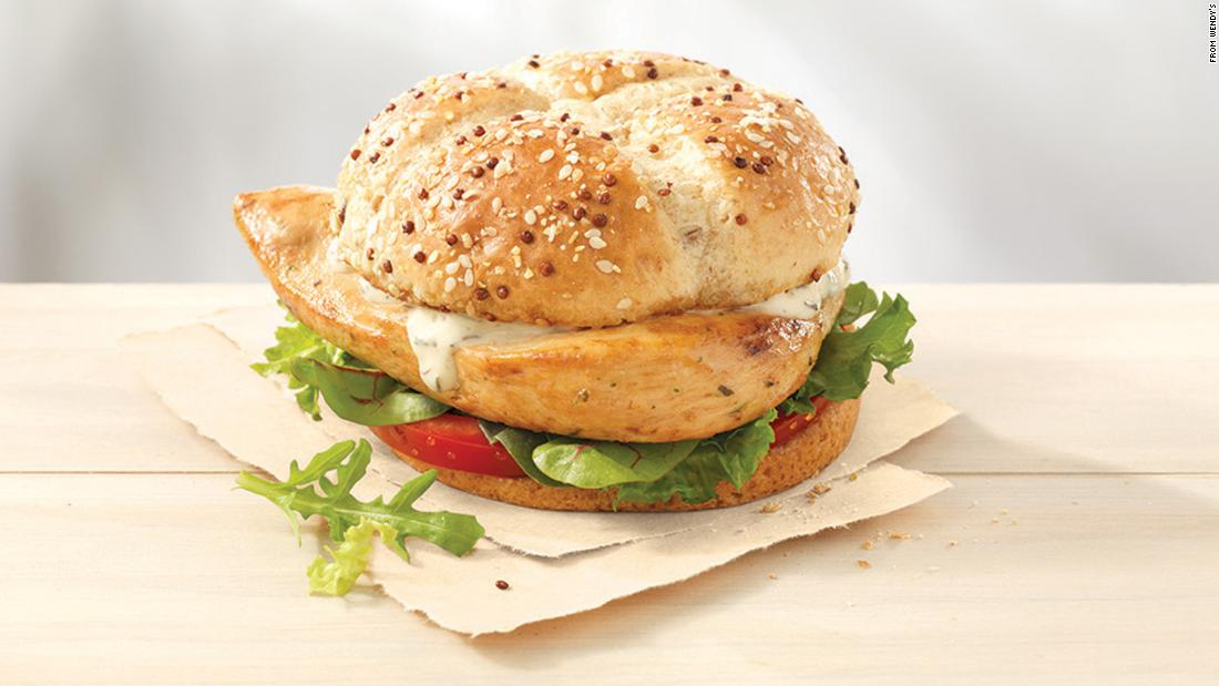 "Wendy's earned nine points out of a possible 36, and received a grade of F. The company said it is currently testing a new grilled chicken sandwich in seven markets. ""As part of this test, we are offering grilled chicken that is raised without antibiotics in four of the seven test markets to determine how our customers respond, as well as if we have ample supply and consistent quality chicken,"" the company said."