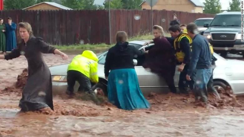 Floods in Utah kill 16, leave four missing