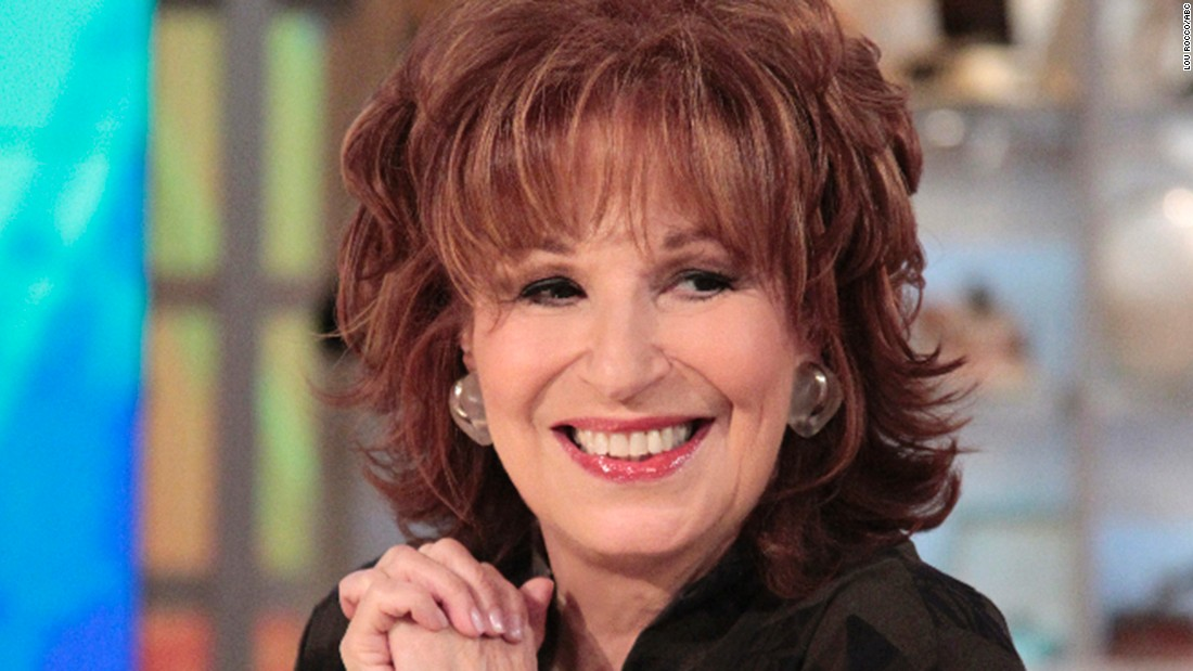 joy behar apologizes