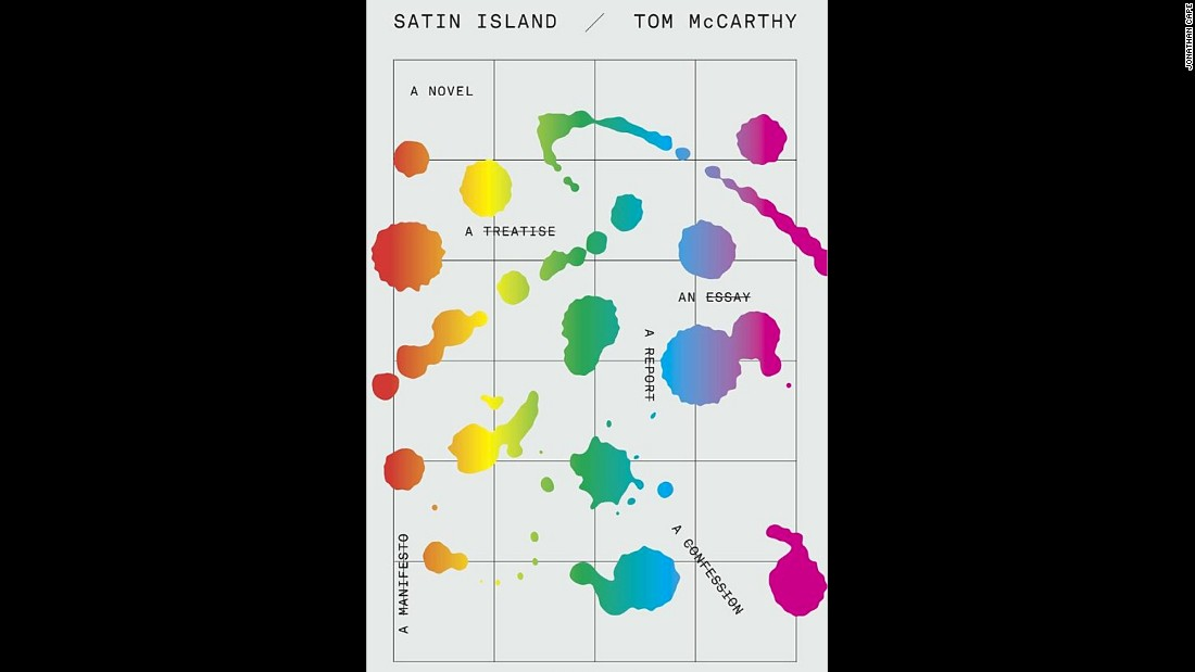 "English writer Tom McCarthy also made the shortlist for ""Satin Island."""