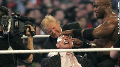 Why pro wrestling is the perfect metaphor for Donald Trump's presidency