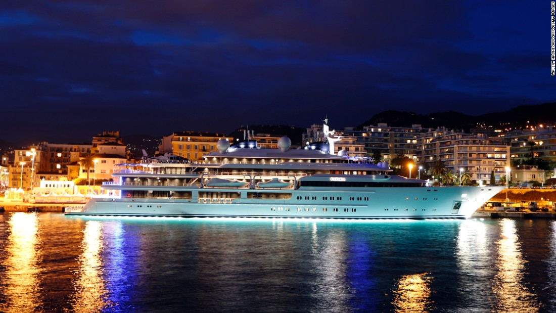 Lit up in the night sky of Nice's harbour is Katara, owned by the Emir of Qatar. A 124-meter bed of luxury,  it is one of the most closely guarded secrets on the seas.