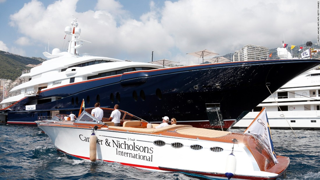 Nirvana is built over six decks with a 7.5-meter swimming pool and a helicopter pad on the sundeck. Much smaller than the other yachts, it can host 12 guests in all with a master deck boasting a smaller pool and private deck.
