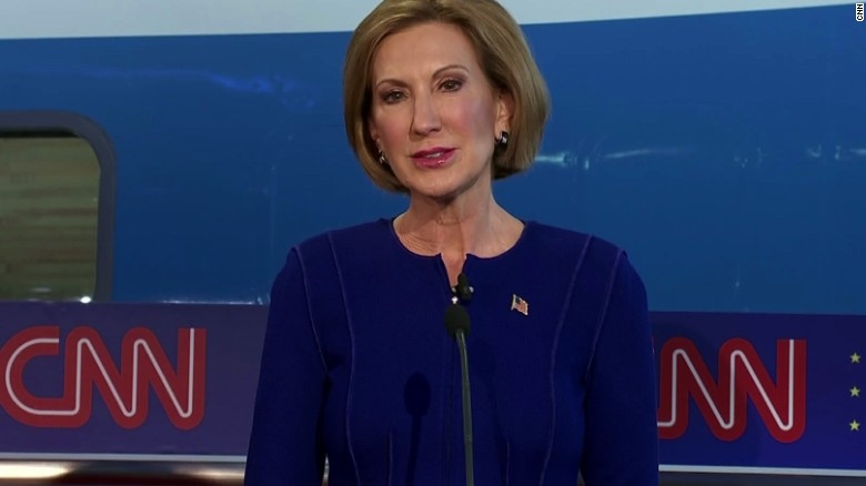 Trump on Carly Fiorina: 'She's got a beautiful face'
