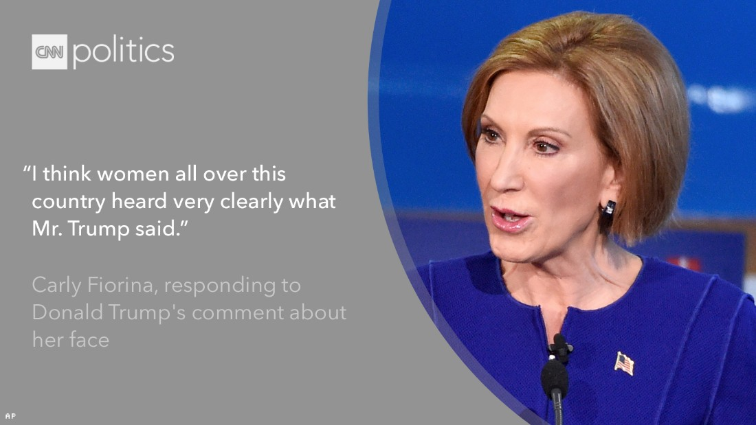 carly fiorina cnn debate