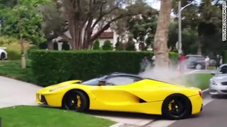 Noisy supercars disturb Beverly Hills neighborhood