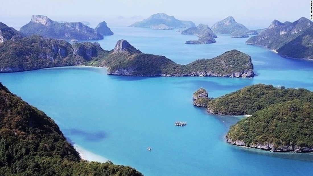 Ang Thong National Marine Park is a collection of uninhabited islands. Not counting wildlife. It's an easy day trip from Samui.