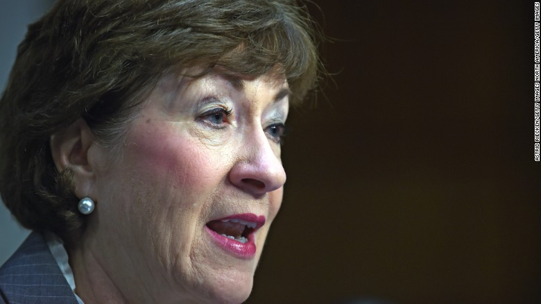 Sen. Collins: Trump should 'act more presidential'