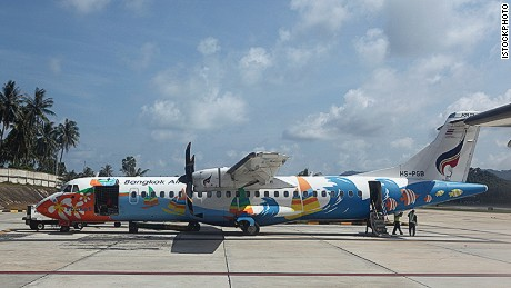 Bangkok Airways operates daily flights between the Thai capital and Koh Samui.