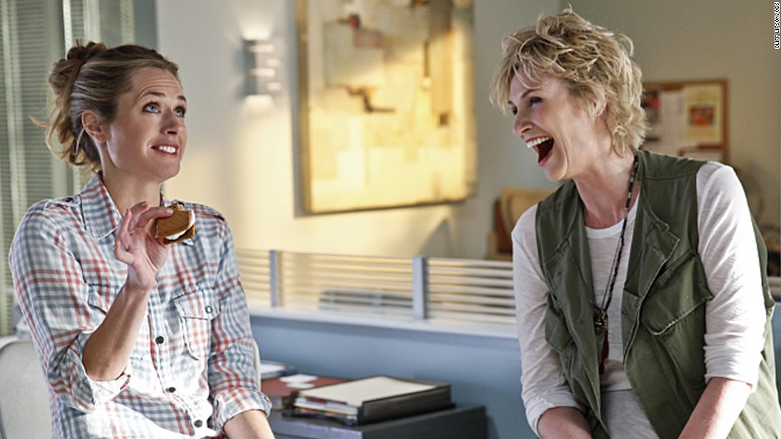 "<strong>""Angel from Hell,"" premieres November 5, 9:30 p.m., CBS: </strong>The reason this show has buzz: Jane Lynch. Another ""Glee"" alum returns to TV, this time as a woman who may or may not be an unorthodox angel sent to help another woman on earth. Or she could just be off her rocker."