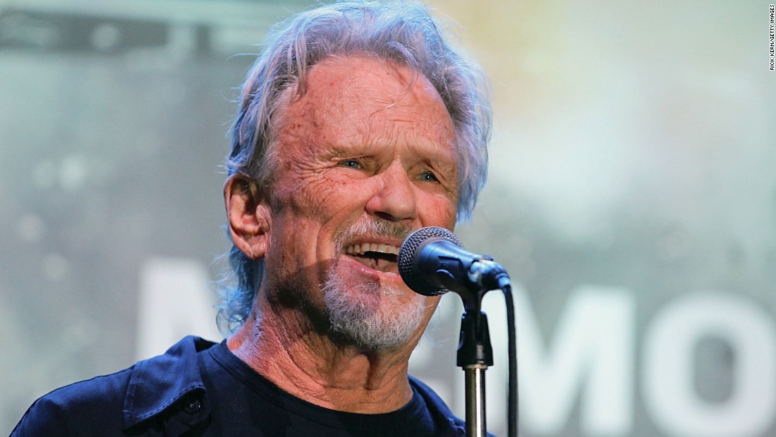 "Kristofferson became better known for his acting career, starring in such films as 1996's ""Lone Star"" and the 2001 version of ""Planet of the Apes."" He put out his most recent album of original tunes, ""Feeling Mortal,"" in 2013."