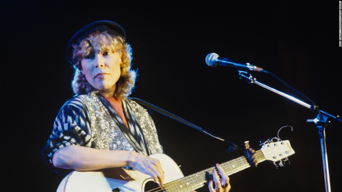 "Her heyday was the 1970s, but the jazzy folk singer released a handful of albums after 1985, notably 1994's ""Turbulent Indigo,"" for which she won a Grammy."