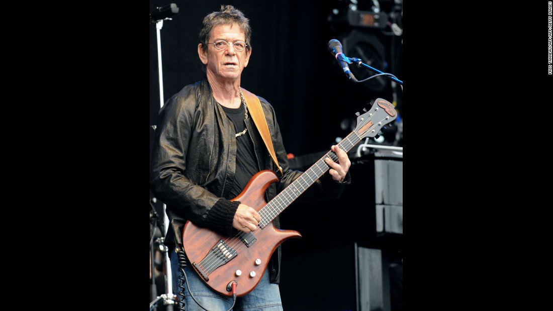 Always iconoclastic, Reed reunited with his old band for a 1993 tour, put out experimental albums and generally remained Lou Reed. He died on October 27, 2013, at 71.
