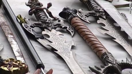 police say florida woman knives swords hatchets arrested pkg_00000220
