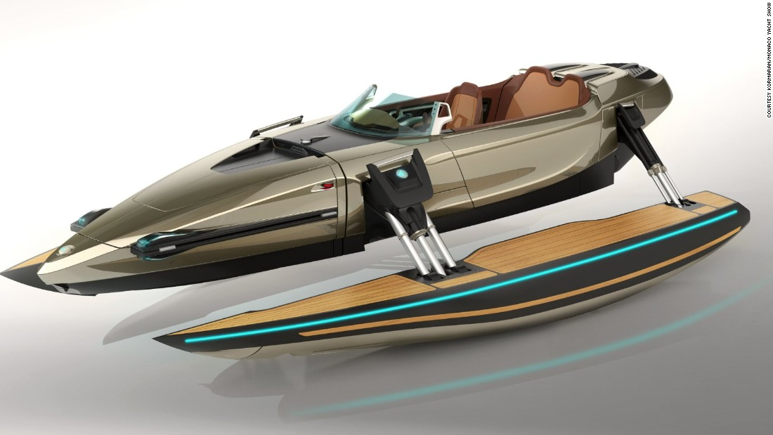 """It's difficult to pin down what exactly the <a href=""""http://www.kormaran.com/"""" target=""""_blank"""">Kormaran</a> is -- with the flick of a switch it can transform into a monohull, katamaran, trimaran, and even bathing platform for swimming. <br />"""