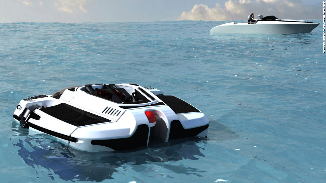 "This <a href=""http://www.uboatworx.com/"" target=""_blank"">submersible </a>comes in a wide range of models -- from one to five person vessels, able to plunge anywhere between 100 meters and 300 meters below the water's surface.<br />A heavy duty research sub is also available which is able to dive 1,700 meters underwater and includes increased space for scientific equipment.<br />"