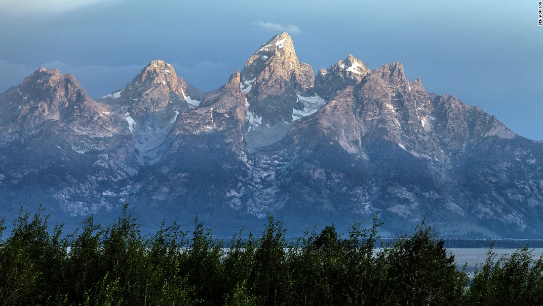 Adjoining the western edge of Grand Teton National Park, National Forest land attracts fewer people and no tour buses. Visitors can drive to the top of Saddle Mountain for free camping and a perfect sunrise view of the Tetons.