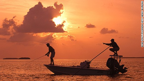 Aside from great fishing, Islamorada has incredible sunsets.