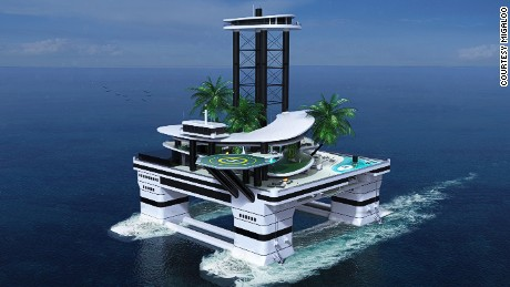 Monaco Yacht Show 2015: Forget the boat, here's the island you can sail