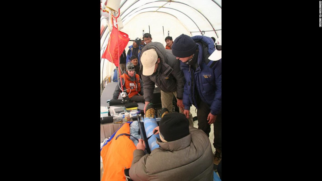 They provide medical services and preventative education to climbers and locals alike.