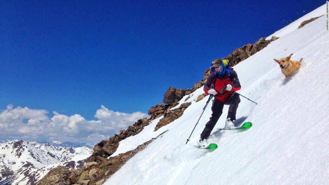 Jon Kedrowski says that skiing in Colorado is a good way to prepare for climbing high peaks in Nepal like Everest.
